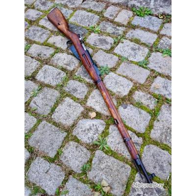 MOSIN NAGANT 1891/30 , manufacture de TULA  DE 1940 monomatricule en cal 7,62 X54R